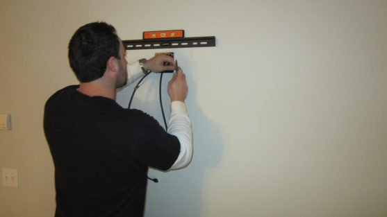Wall TV Installation: How to Mount the TV Wall bracket