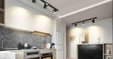 Dimmable led track lighting spotlight track light modern cob home lamp 20W 15W wall lamp for Marble Tile Bathroom Ideas