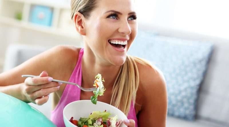 Fit woman eating healthy salad after workout 1024x683 1 Ways to Treat Your Body Better