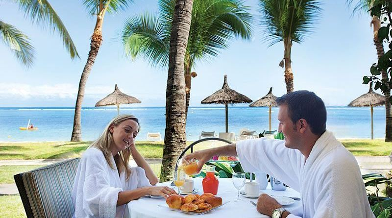 romantic breakfast at sugar beach mauritius Romantic Things to do in Mauritius