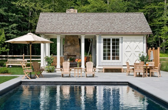 building a pool house