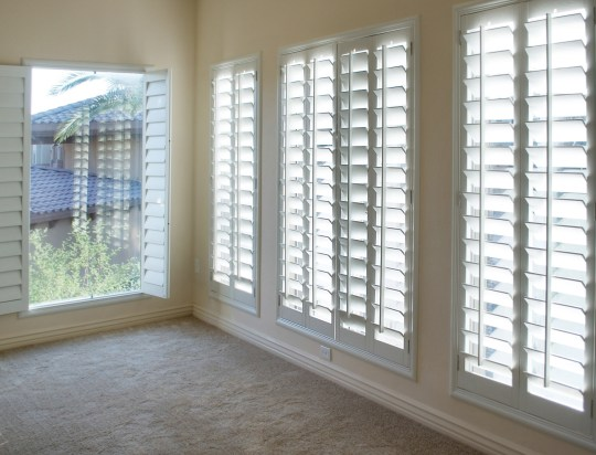 adding shutters to a house
