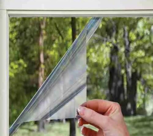 Isolerende raamfolie home window tinting