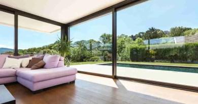 Window Wall Contemporary Flooring Options
