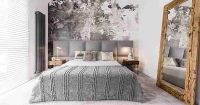 marble wallpaper in master bedroom Types of Closet Doors