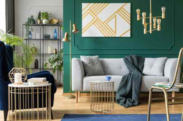 painted walls accent wall ideas 5 Ways to Decorate Bare Walls