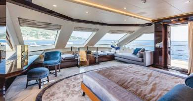 boat interior design 23 High Gloss Kitchen Cabinets
