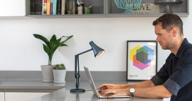 anglepoise 90 mini mini home working banner Decorating Your Home Office