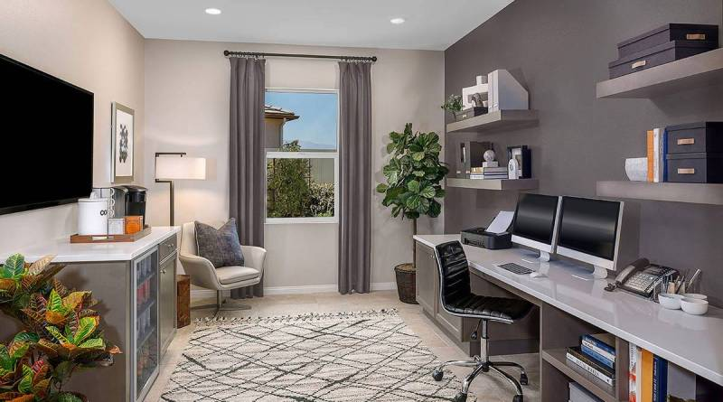 14138972 web1 copy KBIE CarmelRidge Plan5 Office1 gray final Decorating Your Home Office