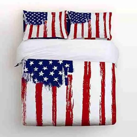 American Flag Comforter Set
