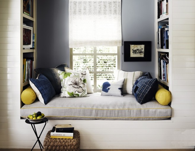 Window seat as a comfortable reading nook Upgrade Your Living Room