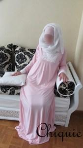 Abaya dantelle