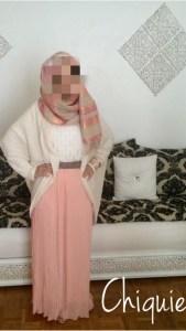 jupe longue plissée mousseline