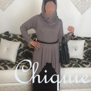 abaya snood