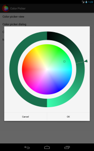 Android Color Picker