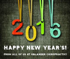 Happy New Year office 2016