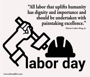All labor that uplifts humanity  has dignity and importance and  should be undertaken with  painstaking excellence   Martin Luther King, Jr.