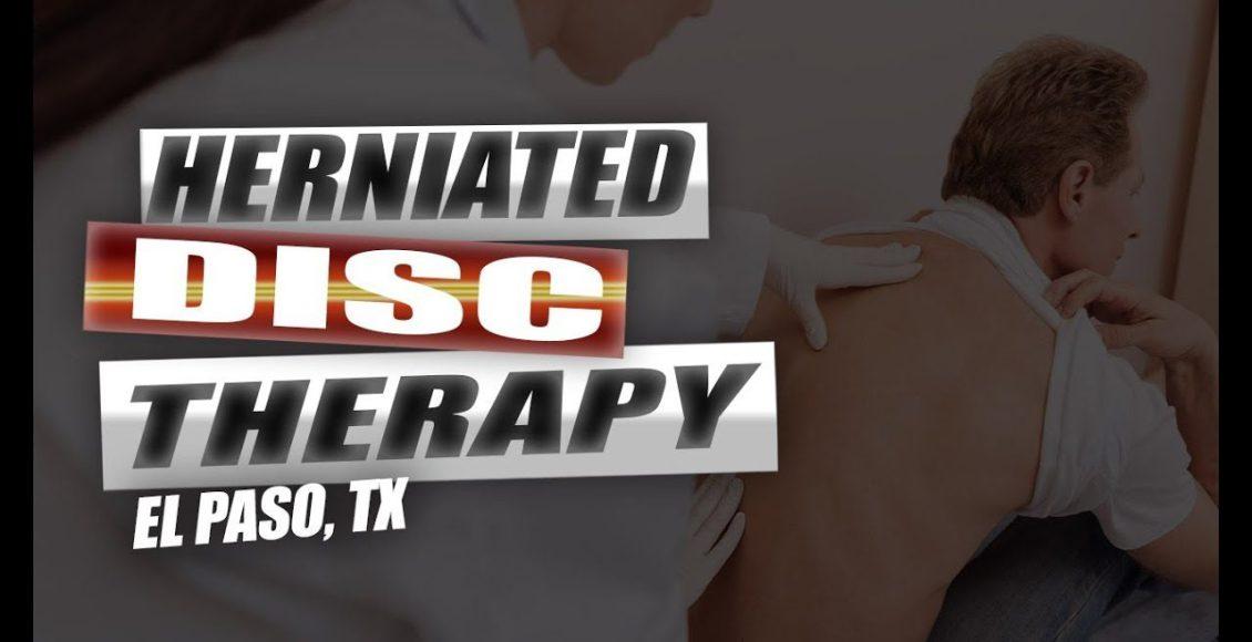 herniated disc chiropractic relief el paso tx.