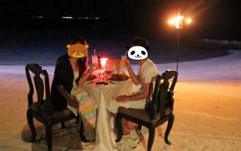 モルディブ♡新婚旅行 One&Only Reethi Rah Maldives Day3-③〜カクテルパーティー&アラビアンディナー〜