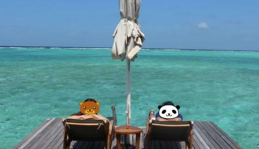 モルディブ♡新婚旅行 One&Only Reethi Rah Maldives Day5-①〜水上ヴィラで写真撮影〜