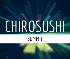 Join us at the ChiroSushi Summit in Las Vegas