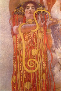 Hygeia by Klimt