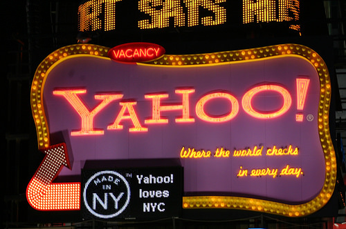photo credit: Yahoo! Times Square sign via photopin (license)