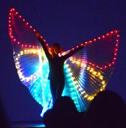"Miss Kari Dudik performs Butterfly to ""Summertime."""