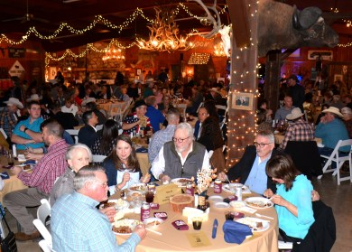 The Texas Safari was filled to the gills for the 50th Annual Clifton Chamber Banquet Saturday.