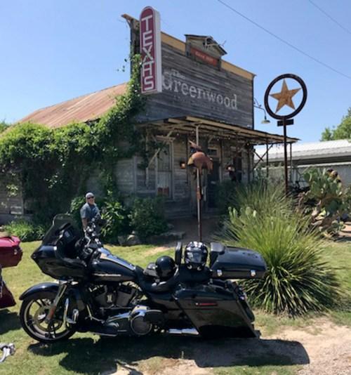 The Greenwood Saloon in Bluff Dale.