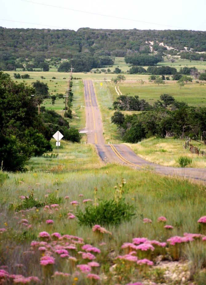 Rolling hills and winding roads provide an interesting ride.