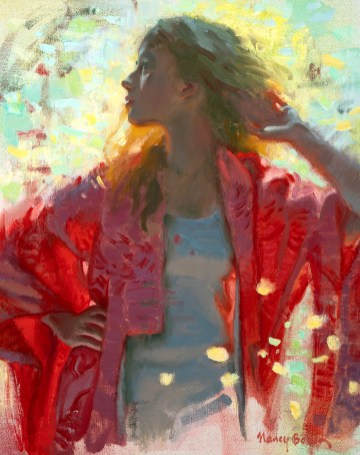 Red Kimono was accepted for the 2020 American Impressionist Society show opening Oct. 22.