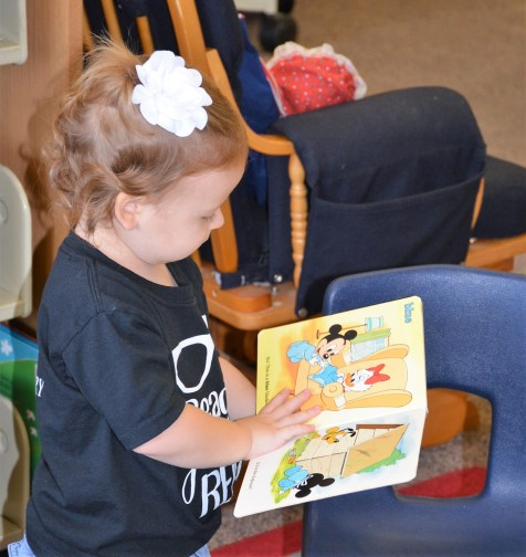 The Meridian Public Library offers Story Time and Crafts for pre-school children.