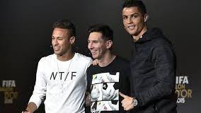 Cristiano, Messi y Neymar compiten por el  premios FIFA