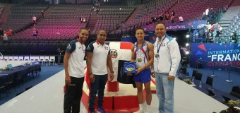 Gimnasta Audrys Nin Reyes obtiene oro en Mundial de Francia