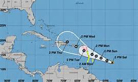 Oficina Nacional Meteorología sigue en alerta sobre el poderoso huracán María