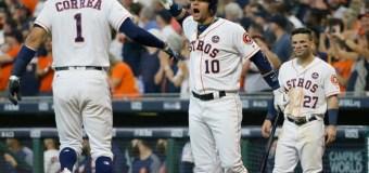 Correa y Verlander comandan triunfo de Astros sobre Yanquis