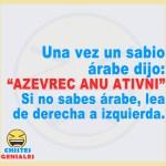Un sabio árabe