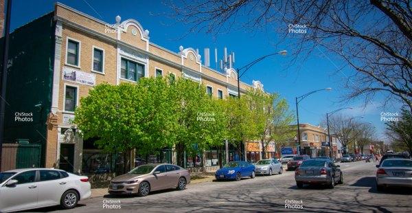 Albany Park Chicago Montrose Avenue