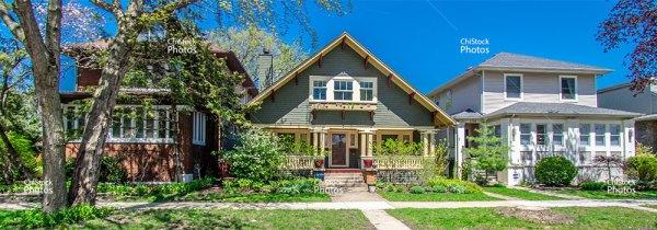 Albany Park Chicago Single Family Homes Side Street