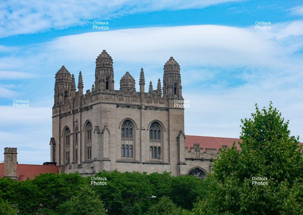 The University of Chicago Harper Memorial Library Midway Plaisance Hyde Park