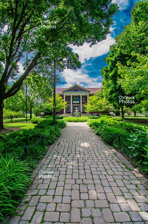 Portage Park Chopin Park Entrance