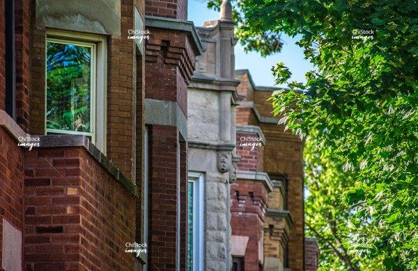 Chicago Bridgeport Side-street Architecture