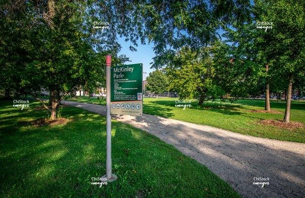 McKinley Park Nature Area Chicago