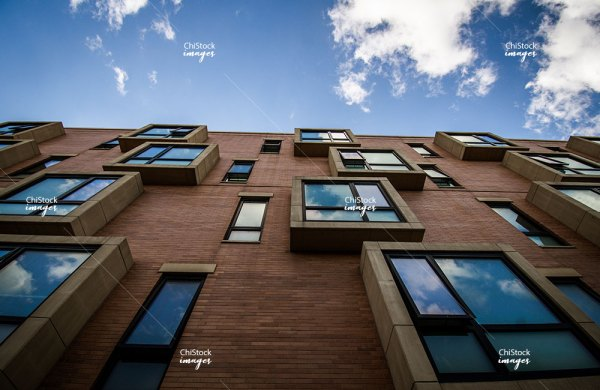 New residential apartments in Douglas neighborhood Chicago