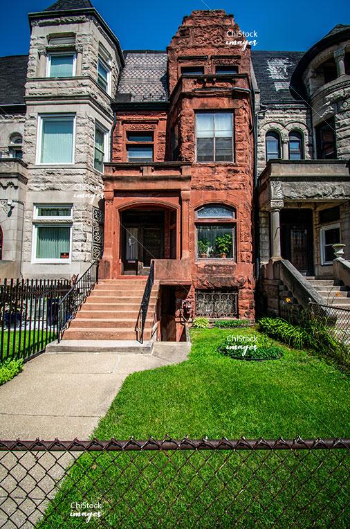 Historic Graystones in Kenwood Chicago