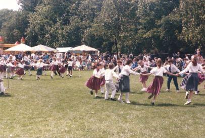 50 years of Green Days 1987 children dancers