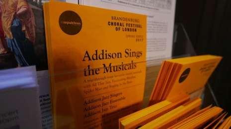 Addison Singers Leaflet