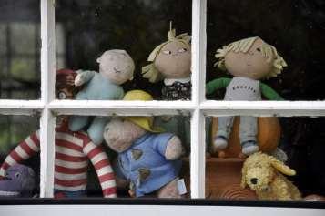 Chiswick Calendar Photographers Marianne Mahaffey Toys in the window