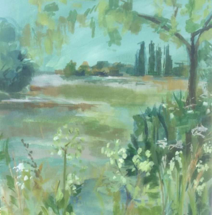 2017 Artists at Home Annie Meier - Chiswick Eyot